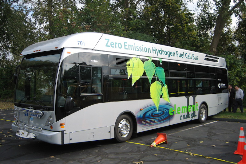 Hydrogen transit bus