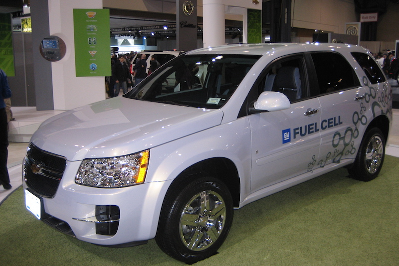 Chevy equinox fuel cell vehicle