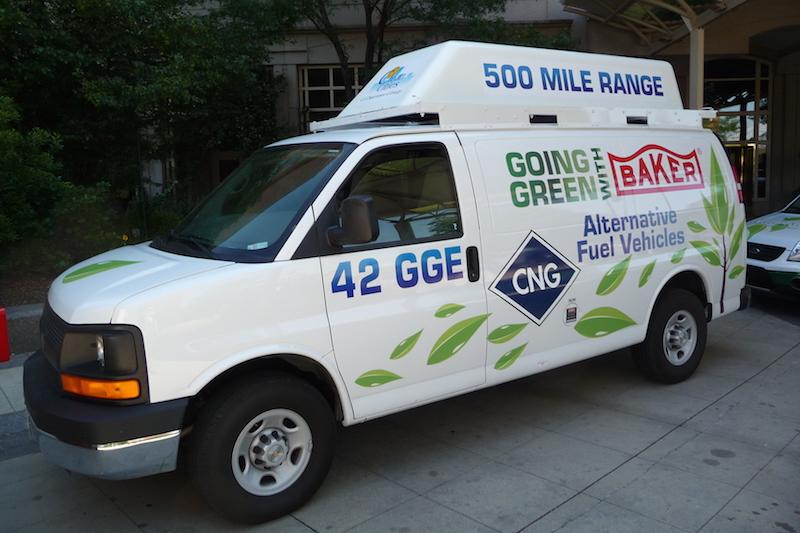 CNG service van