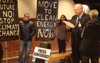 30+ organizations call on Mayor Harp to act on climate